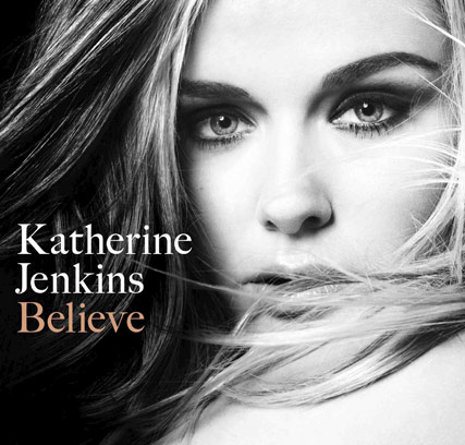 Katherine Jenkins Album cover, Believe, Celebrity News