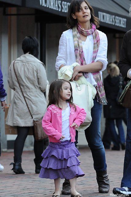 Katie Holmes and Suri Cruise - Celebrity News - Marie Claire