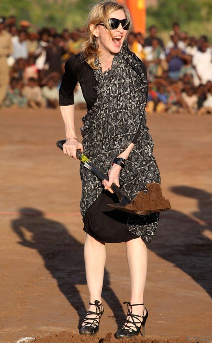 Madonna in Malawi, Celebrity News, Celebrity Photos