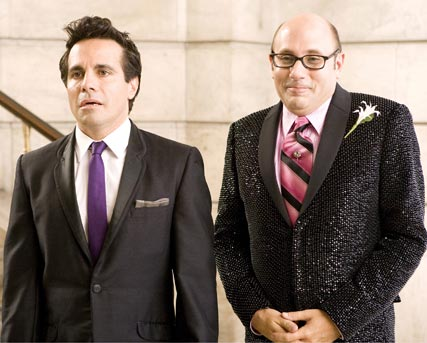 Willie Garson and Mario Cantone - Stanford and Anthony, Sex and the City Movie