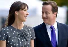 Samantha and David Cameron - Celebrity News - Marie Claire