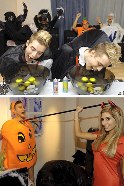 X Factor Halloween Party - Celebrity News - Marie Claire
