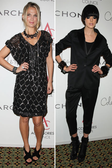 Molly Sims and Agyness Deyn - Celebrity News - Marie Claire