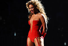 Beyonce Knowles - Celebrities in Underwear - Fashion - Marie Claire