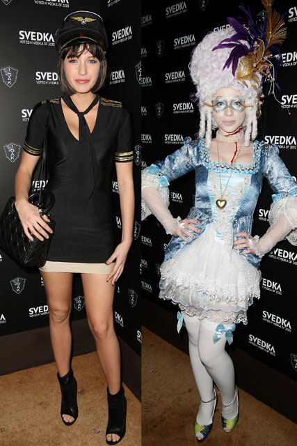 Blake Lively and Michelle Trachtenberg - Halloween - Celebrity News - Marie Claire