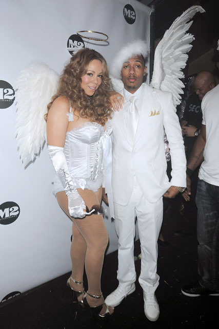 Mariah Carey and Nick Cannon - Halloween - Celebrity News - Marie Claire