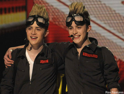 John and Edward - Celebrity News - Marie Claire