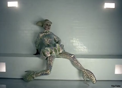 Lady Gaga in Bad Romance video - Celebrity News - Marie Claire