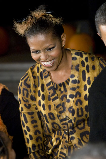 Michelle Obama - Halloween - Celebrity News - Marie Claire