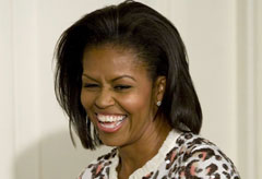 Michelle Obama - Celebrity News - Marie Claire