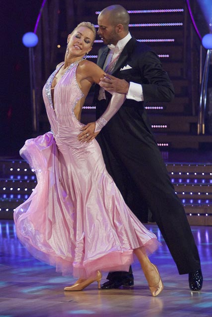 Ricky-Whittle-and-Natalie-Lowe-Strictly Come Dancing-Celebrity Photos-17 October 2009