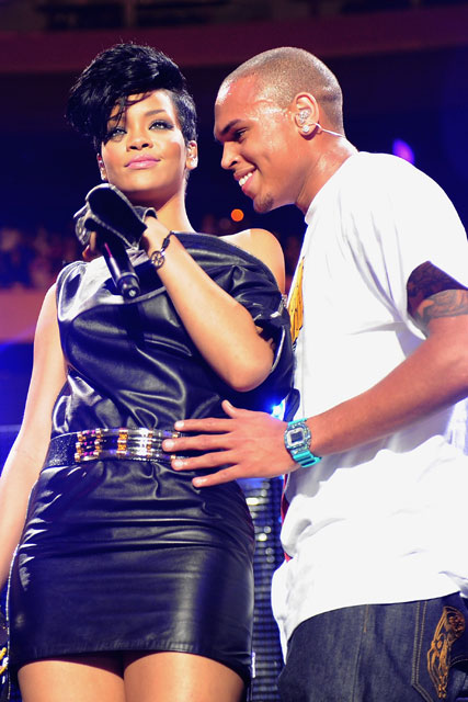 Rihanna and Chris Brown - Celebrity News - Marie Claire