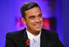 Robbie Williams - Celebrity News - Marie Claire