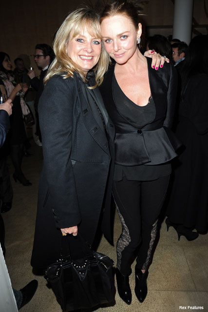 Stella McCartney and Twiggy - Celebrity News - Marie Claire