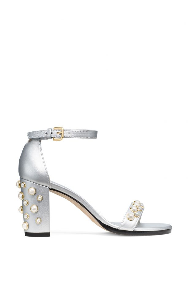 The Bingpearls Sandal, £440, Stuart Weitzman