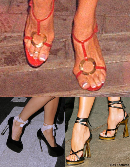 Victoria Beckham's shoes, Celebrity News, Celebrity Photos