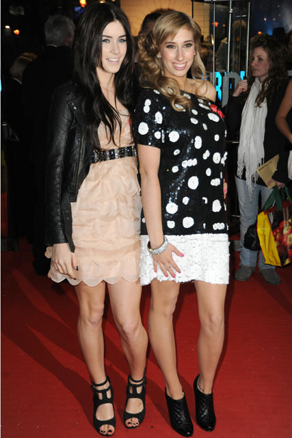 Lucie Jones and Stacey Solomon X Factor - A Christmas Carol premiere - Celebrity news - Marie Claire