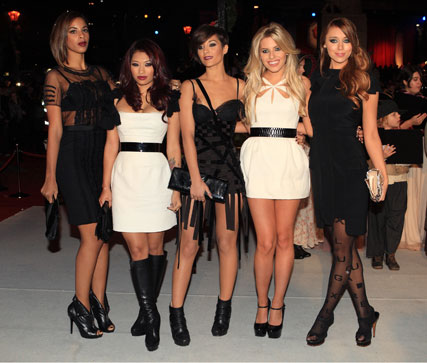 The Saturdays - A Christmas Carol premiere - Celebrity news - Marie Claire
