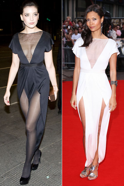 Daisy Lowe and Thandie Newton ? Who wore it best?