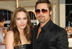 Angelina Jolie and Brad Pitt - Celebrity News - Marie Claire