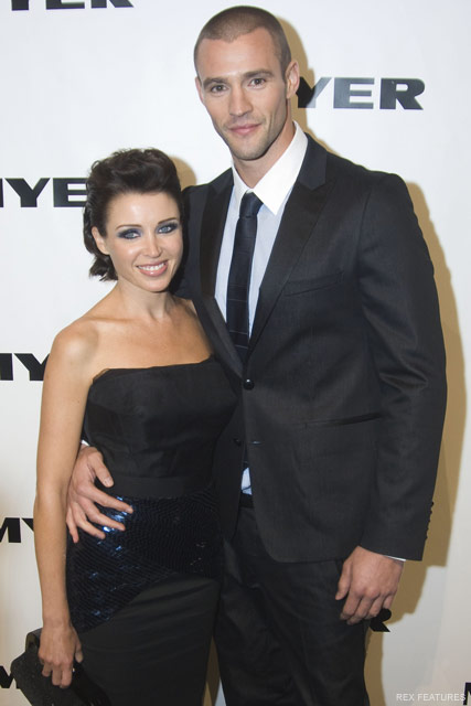 Dannii Minogue and Kris Smith - Celebrity News - Marie Claire