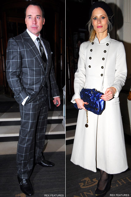 David Furnish & Laura Bailey - Celebrity News - Marie Claire