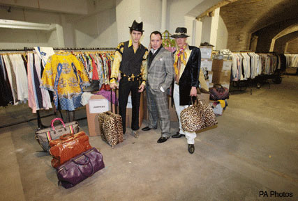David Furnish, Out of the Closet pop-up shop Crop - Fashion News - Marie Claire