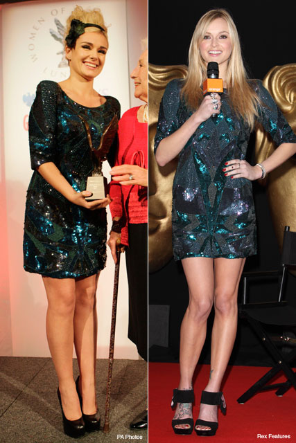 Katherine Jenkins and Fearne Cotton - Who wore it best? - Fashion - Marie Claire