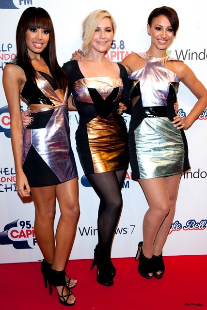 The Sugababes - Jingle Bell Ball - Fashion News - Marie Claire