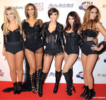 The Saturdays - Jingle Bell Ball - Fashion News - Marie Claire