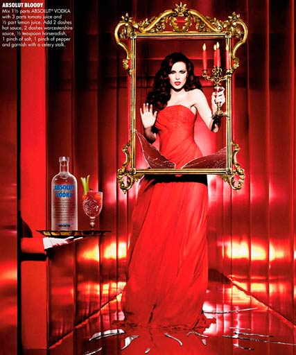 Kate Beckinsale, Absolut Vodka Adverts, Celebrity News, Celebrity Photos