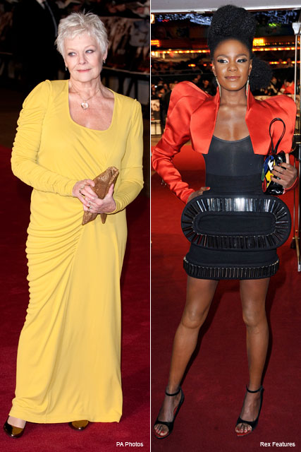 Judi Dench, Shingai Shoniwa - Nine Premiere - Fashion News - Marie Claire