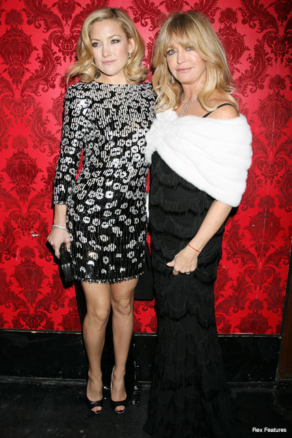 Kate Hudson and Goldie Hawn - Nine - Fashion - Marie Claire