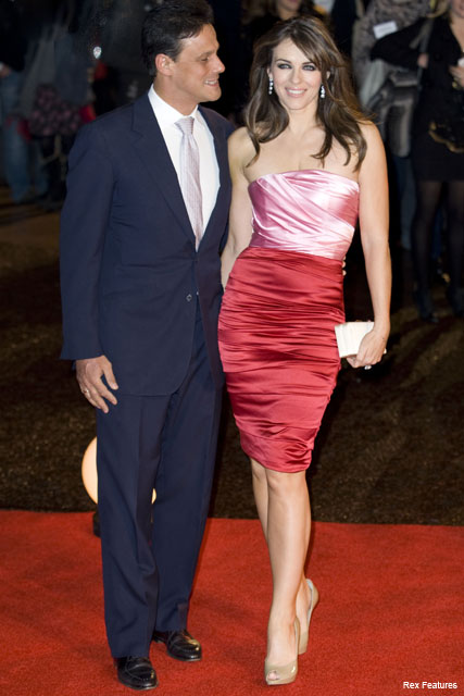 Elizabeth Hurley and Arun Nayer - Fashion News - Marie Claire