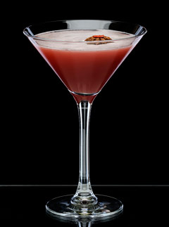Spiced Cherry Sour Martini - Marie Claire