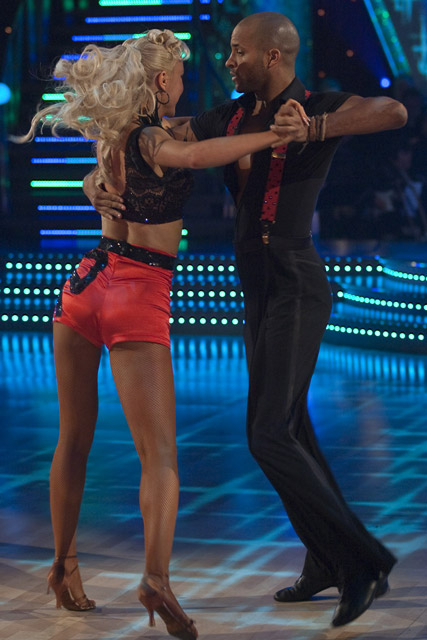 Ricky Whittle & Natalie Lowe - Strictly Come Dancing - Marie Claire