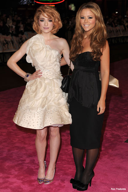 Nicola Roberts and Kimberley Walsh - Fashion News - Marie Claire