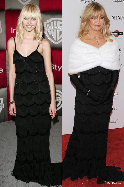 Taylor Momsen, Goldie Hawn - Who wore it best? - Marie Claire