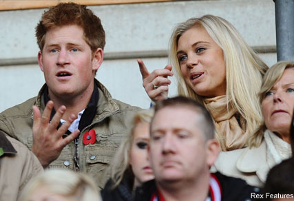 Prince Harry and Chelsy Davy - Celebrity News - Marie Claire