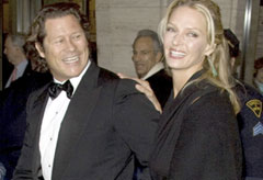Marie Claire Celebrity News: Uma Thurman and Arpad Busson