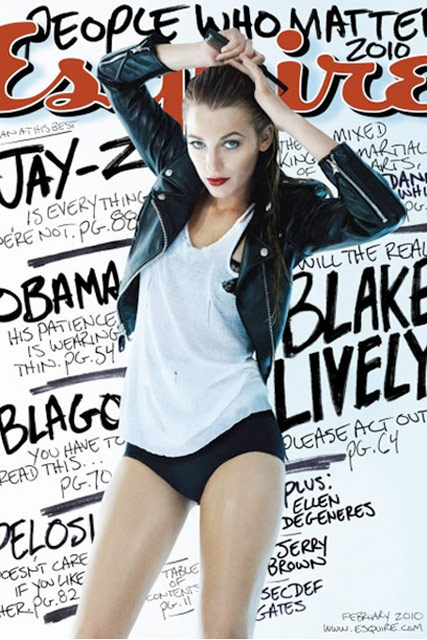 Blake Lively - Celebrity News - Marie Claire