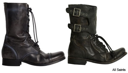 Boots - Trend: Celebrities in All Saints Military Boots - Marie Claire
