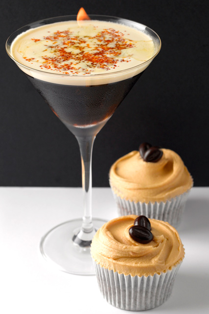 Cocktails & Cupcakes at the Mayfair Hotel, London, Caramelised Espresso Martini