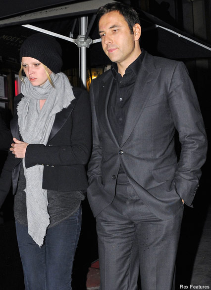 David Waliiams & Lara Stone - Celebrity News - Marie Claire