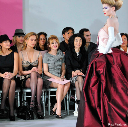 Dior Couture Front Row, Kylie Minogue