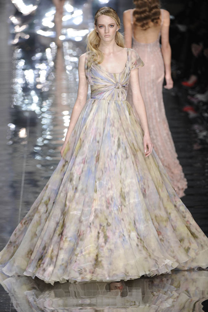 Couture fashion week - Elie Saab