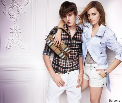 Emma Watson for Burberry S/S 2010