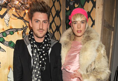Henry Holland and Agyness Deyn - Celebrity News - Marie Claire