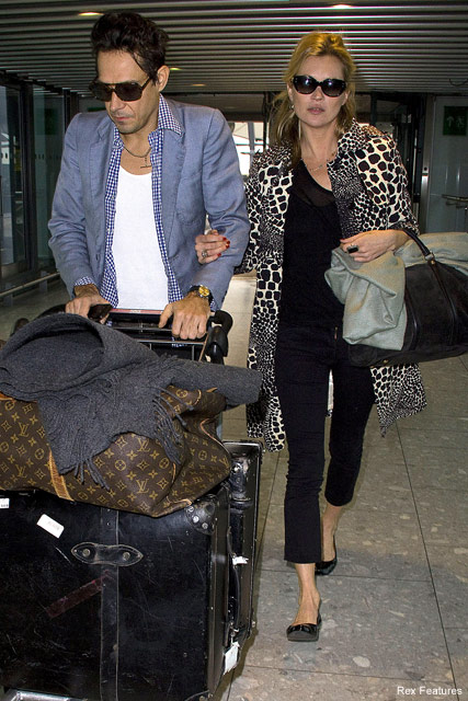Kate Moss & Jamie Hince - Celebrity News - Marie Claire