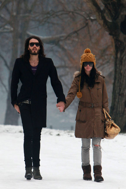 Russell Brand and Katy Perry - Celebrity News - Marie Claire